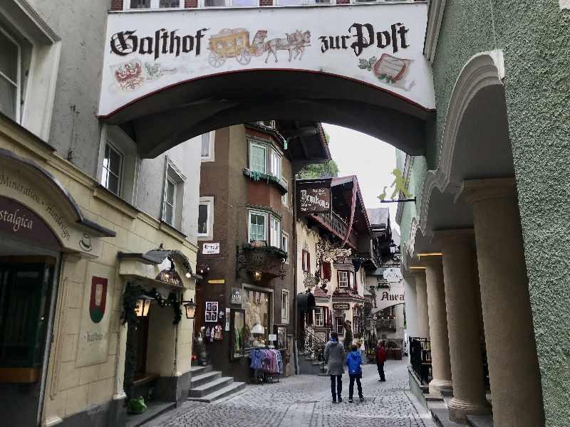 """Die Römerhofgasse Kufstein ist für viele das Synonym für """"Kufstein Altstadt"""""""