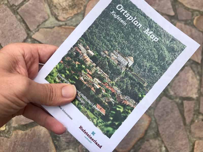 Kufstein Stadtplan - kostenlose Kufstein Karte für deinen Stadtrundgang!