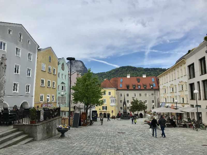 Unterer Stadtplatz Kufstein - das Herz der Altstadt Kufstein
