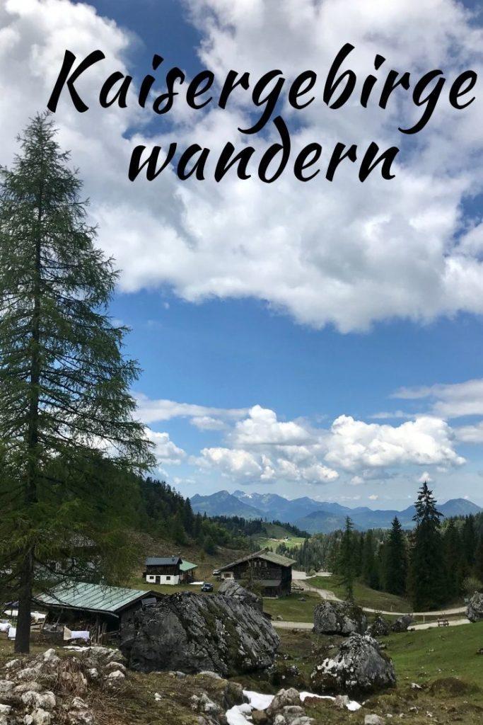 Kaisergebirge wandern Kufstein