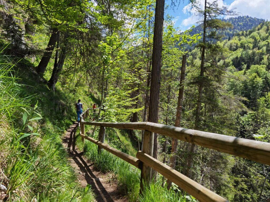 Entspannt in Kufstein wandern - viele Wandersteige und breite Wege laden dazu ein