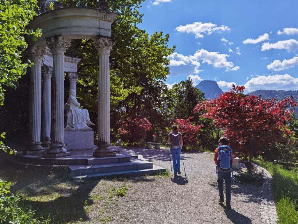 Das List Denkmal Kufstein - ein schöner Platz, den nicht einmal alle Kufsteiner kennen