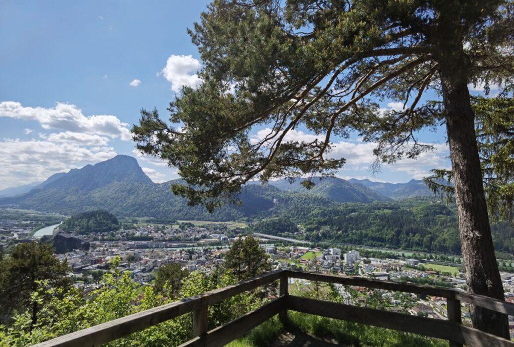 Aussichtsreich in Kufstein wandern - hier am Duxer Köpfl