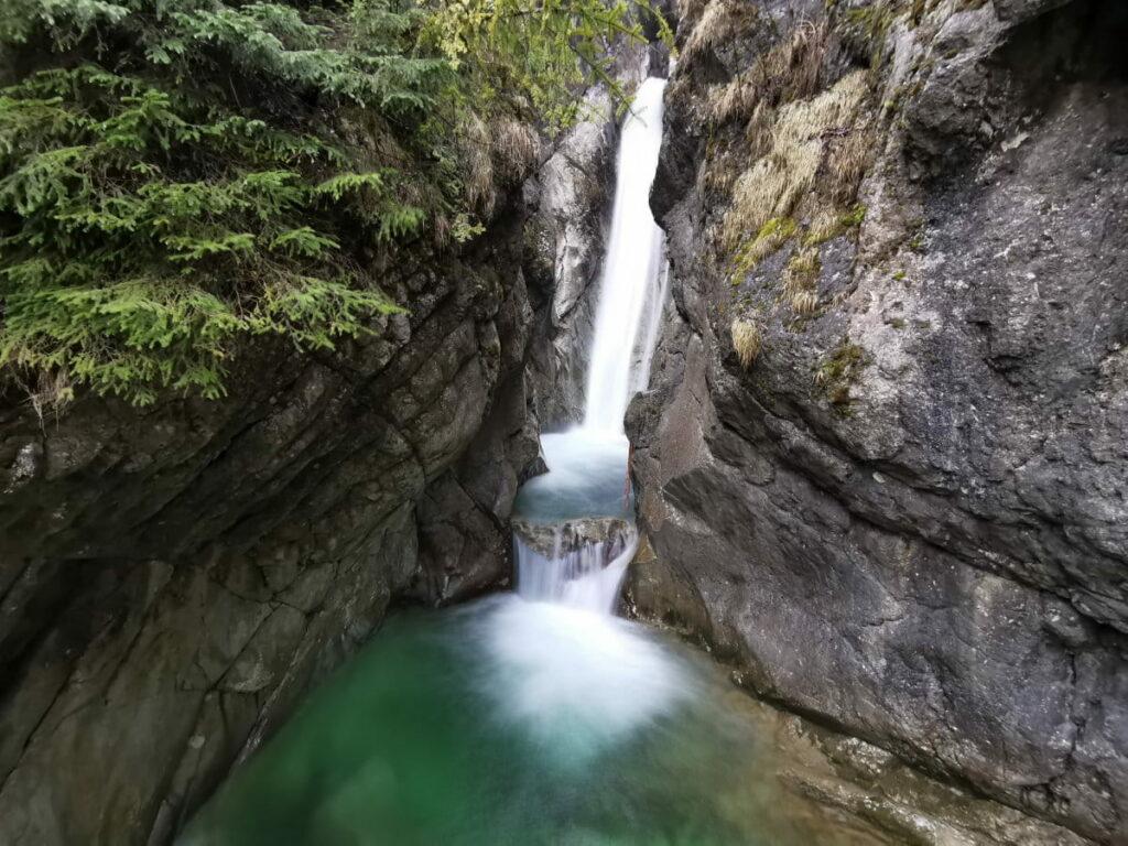 Kufstein Sehenswürdigkeiten in der Natur - die Tatzelwurm Wasserfälle